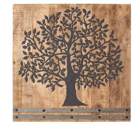 Decorative Wall Panels Home Depot by Home Decorators Collection 36 In H X 36 In W Arbor Tree