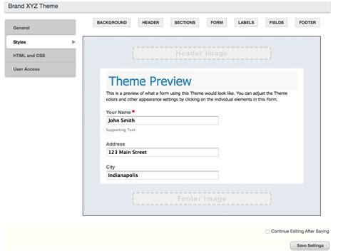 online themes builder what free web form builders can t do 183 formstack blog