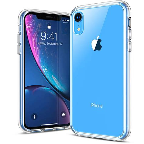 iphone xr clear protective  agile button ranvoo
