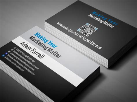 Business Card Template Social Media Free by Business Cards For Social Media Gallery Card Design And