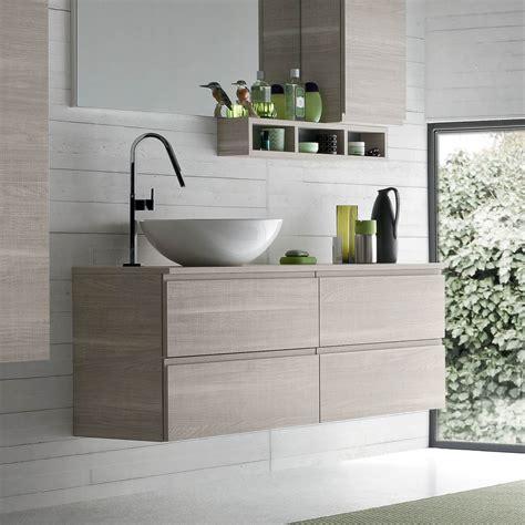 piano appoggio lavabo bagno mobile bagno con lavabo in appoggio atlantic arredaclick