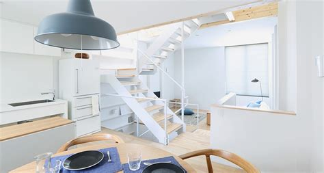 video these japanese minimalists own almost nothing muji s vertical house in tokyo accommodates city living