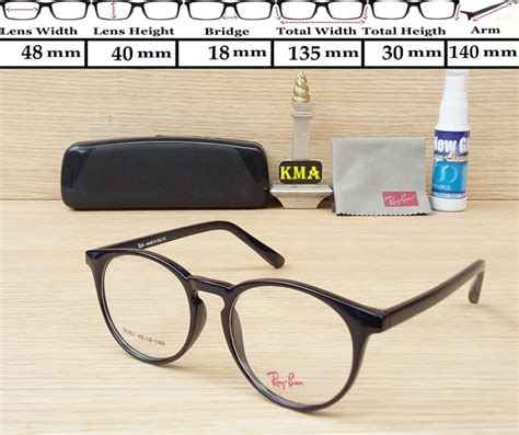 Kacamata Rayban Kualitas Premium Mursh frame kacamata rayban r351 hitam pusat kacamata murah