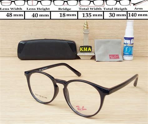 Kacamata Korea Murah R B Frame Free Lensa frame kacamata rayban r351 hitam pusat kacamata murah