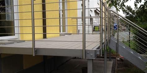 edelstahlgeländer terrasse aussen gel 228 nder