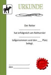 Word Vorlage Urkunde Kinder Urkunde Reiten Als Vorlage Zum Ausdrucken