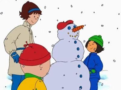 Caillou In The Bathtub Caillou S Snowman Caillou Wiki Fandom Powered By Wikia