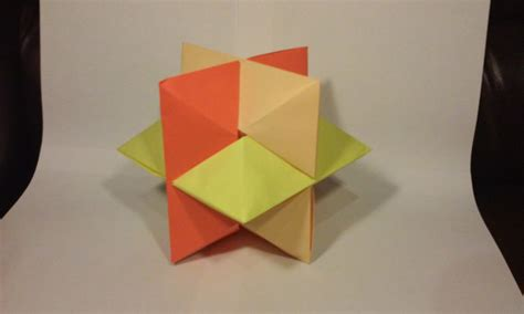 Puzzle Origami - origami burr puzzle froy folded by stefan ez origami
