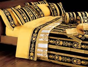 Versace Bed Set Versace Black Medusa Bedding Set Home Ideas