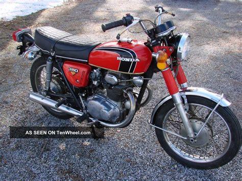Harley Davidson Toaster 1972 Honda Cb350 Twin Cylinder Motorcycle Looks Amp Runs