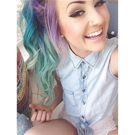 cute color hairstyles tumblr 1000 images about tumblr girls c on pinterest her