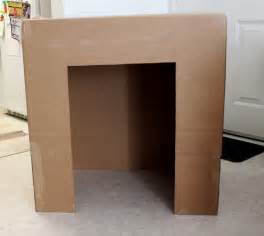 kamin aus pappe cation designs diy cardboard faux fireplace