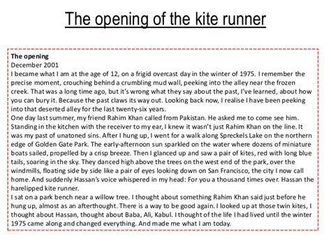 kite runner revision kite runner revision