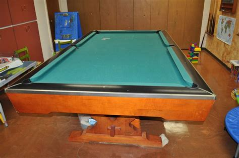 Non Slate Pool Table by 1000 Ideas About Brunswick Pool Tables On