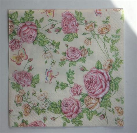 Paper Napkin Decoupage - 1000 images about paper napkins on