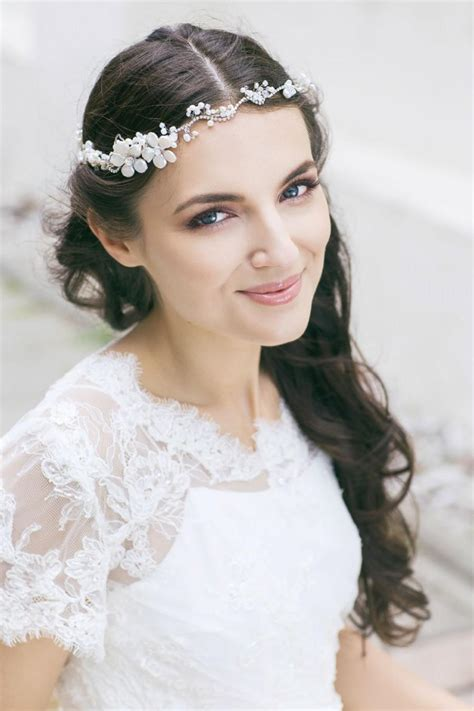 Wedding Hair Accessories Halo by Wedding Headpiece Bridal Hair Wedding Floral