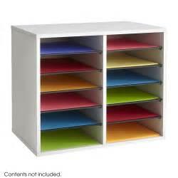 office desk paper sorter shelves file storage organizer 12