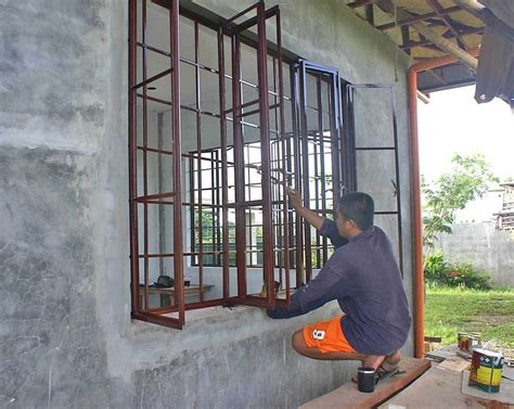 Secure House Windows Decorating Our Philippine House Project Paint And Painting My Philippine