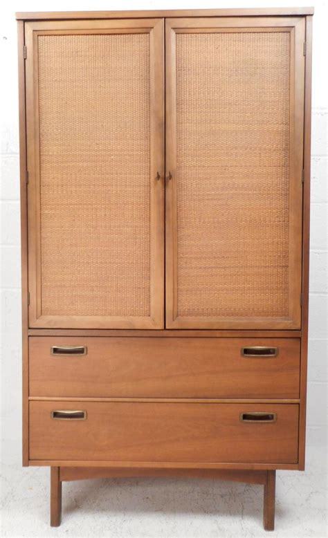 Armoire Dresser Mid Century Modern Front Armoire Dresser For Sale At