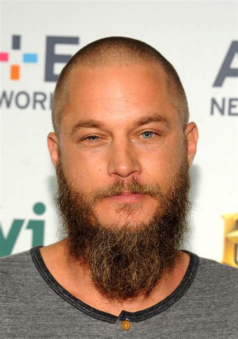 travis fimmel hairstyle travis fimmel photos photos 2015 a e networks upfront