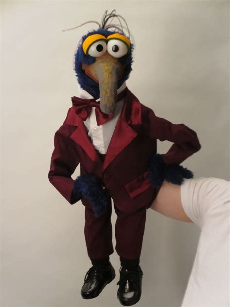 Handmade Puppets For Sale - constructed from foam and fur all clothes are
