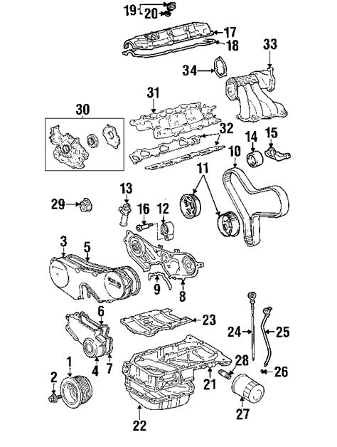 2004 toyota camry engine parts diagram 2002 toyota camry parts metrotoyotapartsnow