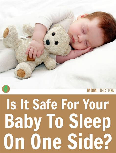 is it safe for baby to sleep in swing babies sleeping on the side what happens if they do how