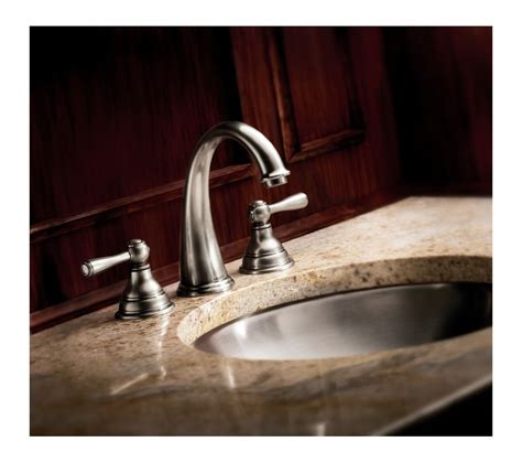 wrought iron bathroom faucet faucet com t6125wr in wrought iron by moen