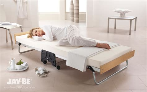 jaybe j bed 120cm small double size jay be j bed memory foam folding guest bed mattress online
