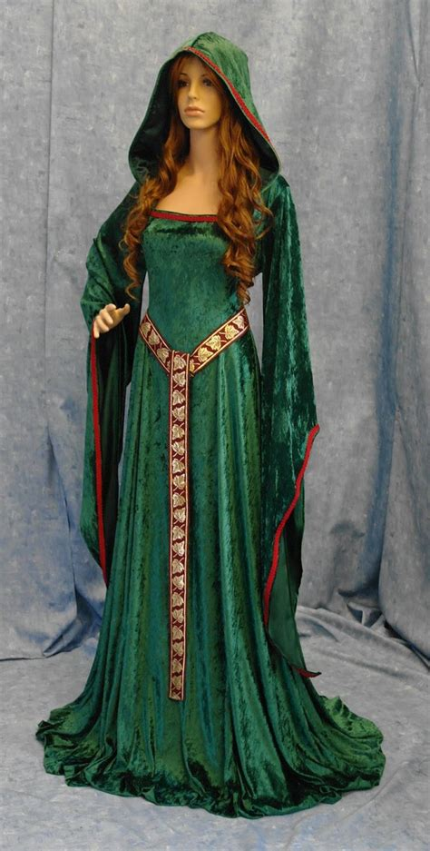 Handmade Renaissance Costumes - renaissance elven dress custom made 189