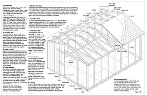 12x16 gable storage shed plans buy it now get it fast ebay
