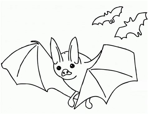 black bat coloring page free printable bat coloring pages for kids