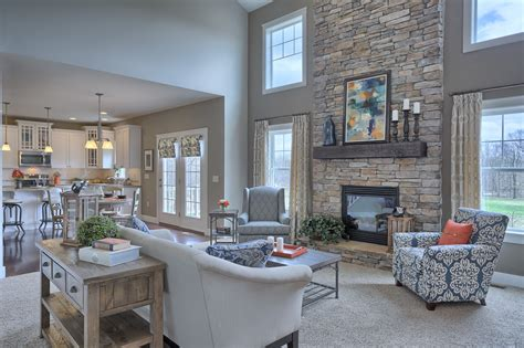 5 great fireplace and hearth great room with 2 story ceiling gas fireplace with