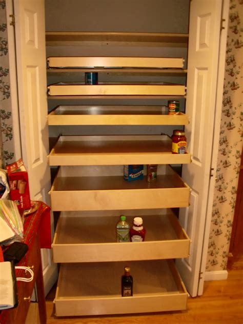 Roll Out Pantry Shelves by Roll Out Solutions From Shelfgenie Of New Jersey Eliminate