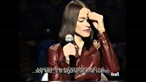 Madonnas Televised Appearance by Madonna On Tv Show Of Light Promo