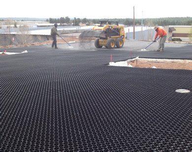 porous grass paver | plastic paving grid | permeable