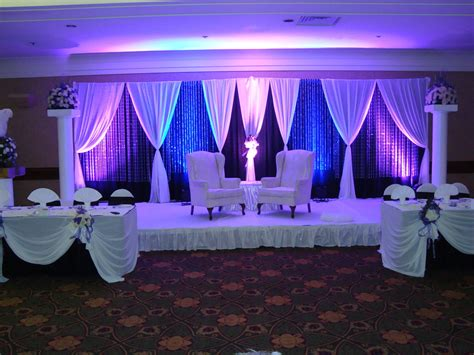 Weddings amp events backdrop noretas decor inc