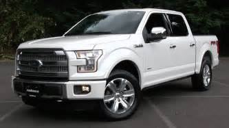Ford Platinum 2015 Ford F 150 Platinum Fx4 Start Up Test Drive And In