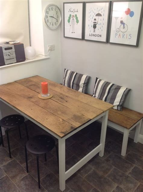 Kitchen table and bench   Contemporary   Dining Tables