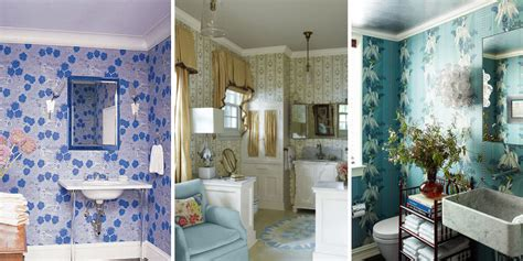 wallpaper designs for bathroom 15 bathroom wallpaper ideas wall coverings for bathrooms