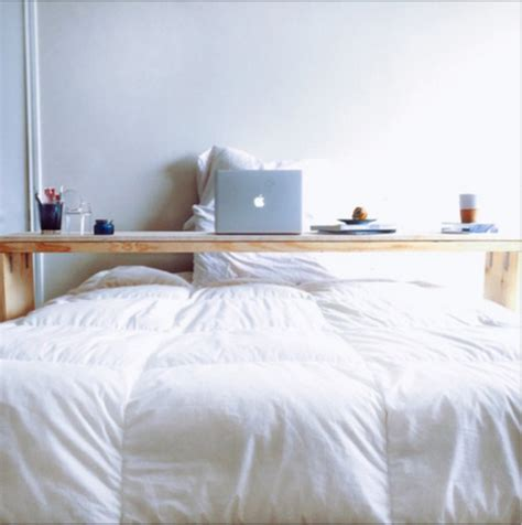 rolling bed table diy rolling bed table with and free plans