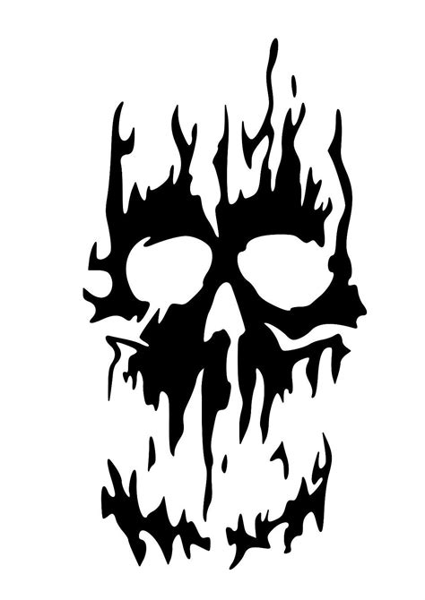 free pumpkin templates printable uk high detail flaming skull airbrush stencil free uk