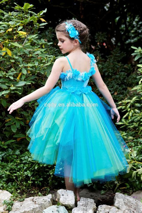 Baby Girls Fairy Dress Costume Butterfly Wing Glitter Colorful Girls Dress/forest Elf Fluffy