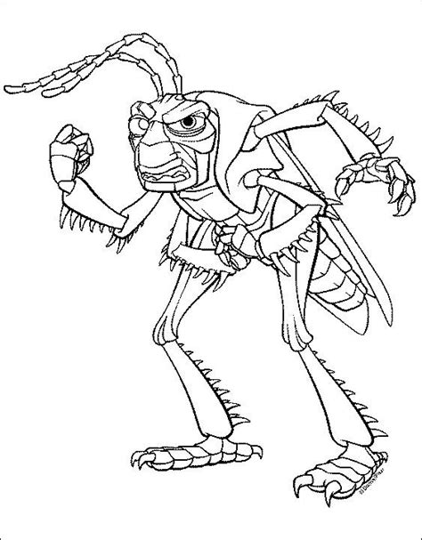 coloring pages a bugs life picture 9
