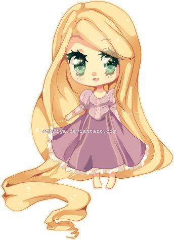 imagenes de rapunzel kawaii rapunzel anime kawaii buscar con google pinesas