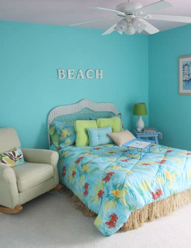 Aqua Themed Bedroom by Color Changes Everything Aqua Bedroom Makeover Afternoon