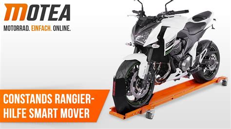 Motorrad Rangierhilfe Youtube by Motorrad Rangierhilfe Constands Smart Mover Youtube