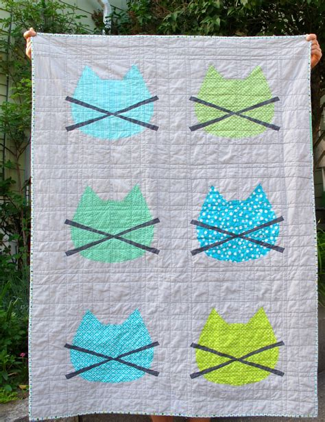 free printable cat quilt patterns quilt inspiration free pattern day cat and dog quilts