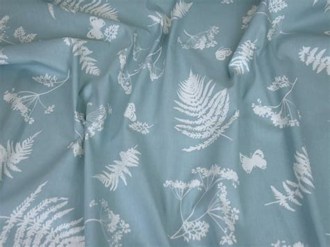 duck egg curtain material clarke clarke moorland duck egg cotton curtain fabric