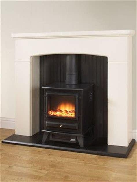 Electric Stove Fireplace Surround Denbury Electric Fireplace Suite With Stove Electric